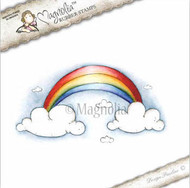 Magnolia Stamps Rainbow with Clouds
