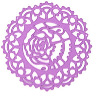 Prima Marketing Purple Metal Die - Lace Rose