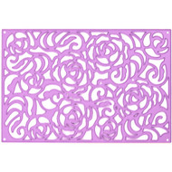 Prima Marketing Purple Metal Die - Rose Wall