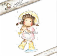 Magnolia Stamps Sweet Rainbow Tilda In Summer Rain