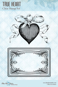 Blue Fern Studios Clear Stamp - True Heart
