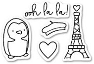 Poppystamps - Ooh La La - Clear Stamp Set (PS-CL420)