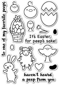 Poppystamps - To All My Peeps - Clear Stamp Set (PS-CL426)