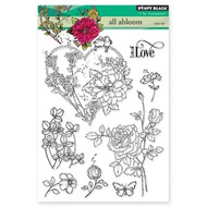 Penny Black All Abloom Clear Stamp Set (30-325)