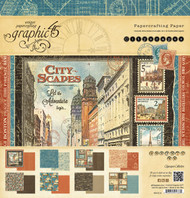 Graphic 45 - Cityscapes - 12x12 Paper Pad (4501312)