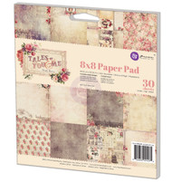Prima Marketing - 8x8 Paper Pad - Tales of You and Me (PM-991074)