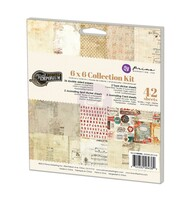 Prima Marketing - 6x6 Scrapbook Paper Collection Kit - Vintage Emporium (PM-584382)