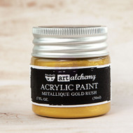 Prima Marketing - Art Alchemy-Acrylic Paint - Metallique Gold Rush 1.7oz (PM-963071)