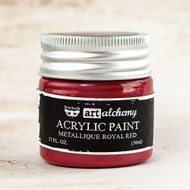 Prima Marketing - Art Alchemy-Acrylic Paint - Metallique Royal Red 1.7oz (PM-963088)