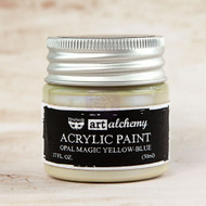 Prima Marketing - Art Alchemy - Acrylic Paint Opal Magic - Yellow-Blue 1.7oz (PM-963606)