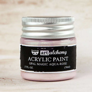 Prima Marketing - Art Alchemy - Acrylic Paint Opal Magic - Aqua-Rose 1.7oz (PM-963613)