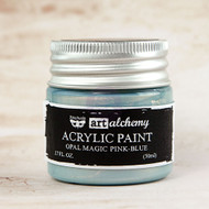 Prima Marketing - Art Alchemy - Acrylic Paint Opal Magic - Pink-Blue 1.7oz (PM-963668)