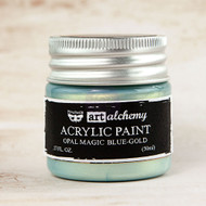 Prima Marketing - Art Alchemy - Acrylic Paint Opal Magic - Blue-Gold 1.7oz (PM-963675)