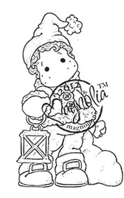 Magnolia Rubber Stamp EDWIN WITH SACK