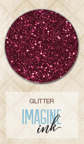 Blue Fern Studios - Imagine Ink - Glitter - Cranberry (BFS-118470)