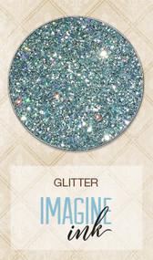Blue Fern Studios - Imagine Ink - Glitter - Blue Ice (BFS-115875)