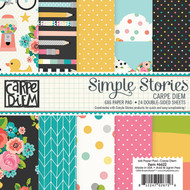 Simple Stories - Carpe Diem - 6x6 Pad (SS-6622)