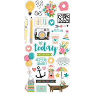 Simple Stories - Carpe Diem - Chipboard (SS-6628)