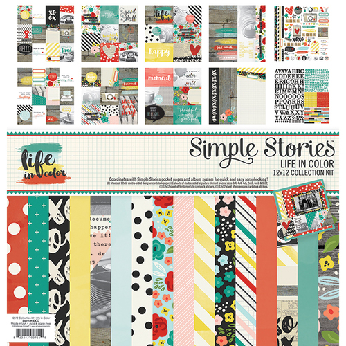 Simple Stories - Life in Color - Collection Kit (SS-5000)