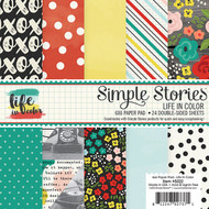 Simple Stories - Life in Color - 6x6 Paper Pad (SS-5022)