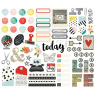 Simple Stories - Life in Color - Bits and Pieces (SS-5029)