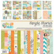 Simple Stories - You Are Here! - Collection Kit (SS-6200)