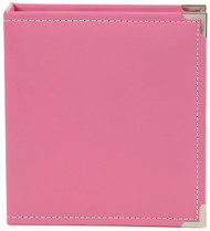 Simple Stories - 6x8 SN@P! Faux Leather Album - Pink (SS-4039)