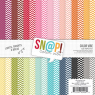 Simple Stories - SN@P! Color Vibe Bolds - Paper Pack (SS-7078)