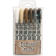 Tim Holtz Distress Crayons Set 3 (TDBK47926)