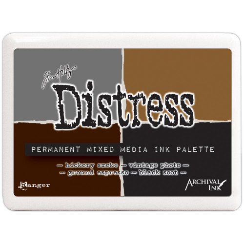Ranger - Tim Holtz Distress Permanent Mixed Media Ink Palette