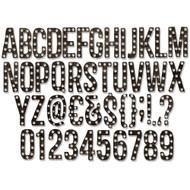 "Sizzix Thinlits Dies by Tim Holtz - Alphanumeric Marquee 1"" (661177)"