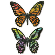 Sizzix Thinlits Dies by Tim Holtz - Detailed Butterflies (661182)