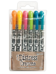Tim Holtz Distress Crayons Set 1