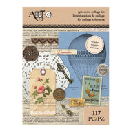 ArtC Ephemera Collage Kit - Victorian 117 pc (25068)