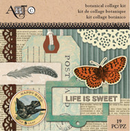 ArtC Ephemera Collage Kit - Botanical Small Kit