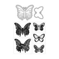 ArtC Stamp & Die Combo - ATC Butterflies (24668)
