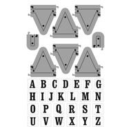 ArtC Stamp & Die Combo - Alpha Pendent