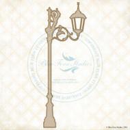 Blue Fern Studios - Chipboard - Lane Lamp Post