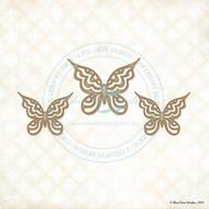 Blue Fern Studios - Chipboard - Gabrielle Butterfly Set