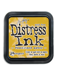 Distress Ink Pad - Fossilized Amber (TIM43225)