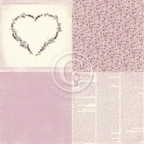Pion Design - Scent of Lavender - 6 x 6 Lavender Love (PD7301F)