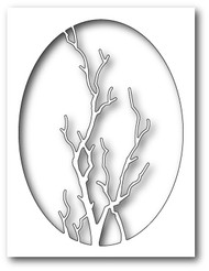 Memory Box - Craft Die - Graceful Branch Oval