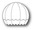 Memory Box - Craft Die - Little Hot Air Balloon Stripes