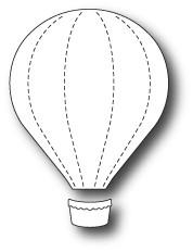Memory Box - Craft Die - Bright Balloon