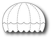 Memory Box - Craft Die - Bright Balloon Stripes
