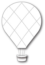 Memory Box - Craft Die - Grand Quilted Balloon