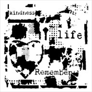 The Crafters Workshop 6 x 6 Stencil - Life Remembered (TCW627)