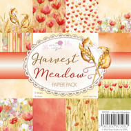 Wild Rose Studio Clear Stamp - 6 x 6 Paper Pad Harvest Meadow (PP050)