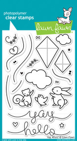 Lawn Fawn - Yay, Kites Stamp Set (LF-1169)