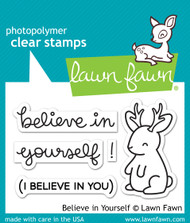 Lawn Fawn - Believe In Yourself Stamp Set (LF-1042)